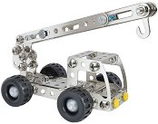 """Камион и Кран - 2 в 1 - Метален конструктор от серията """"Eitech за начинаещи"""" - играчка"""