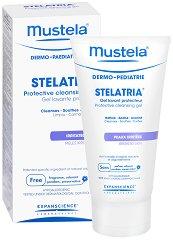 """Mustela Stelatria Protective Cleansing Gel - Защитен почистващ гел за бебета и деца с раздразнена кожа от серията """"Stelatria"""" -"""