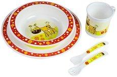 Детски комплект за хранене - Конче - За бебета над 12 месеца -
