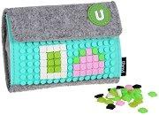 Портмоне със силиконови елементи - Детски аксесоар за декориране - играчка