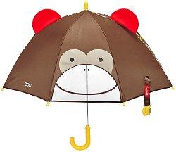 """Детски чадър - Маймунка - Аксесоар от серията """"Zoo"""" -"""