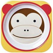 """Купичка за хранене - маймунка - От серията """"Zoo"""" за бебета над 6 месеца -"""