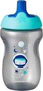 """Неразливаща се спортна чаша - Sports Bottle 300 ml - За бебета над 12 месеца от серията """"Explora"""" -"""