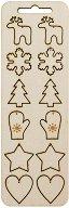 Фигурки от шперплат - Коледни мотиви
