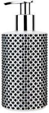 Vivian Gray Black & White Diamonds - Течен сапун в диспенсър с кристали -
