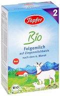 Преходно био козе мляко - Bio Goat Milk 2 - Опаковка от 400 g за бебета над 6 месеца -