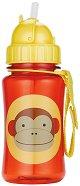 """Неразливаща се чаша - Маймунка: 350 ml - От серията """"Zoo"""" за бебета над 12 месеца -"""