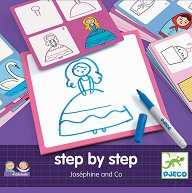 """Нарисувай сама картинки - Josephine - Творчески комплект от серията """"Step By Step"""" -"""