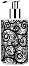 Vivian Gray Glamour - Течен сапун в диспенсър с кристали в черно и бяло - сапун