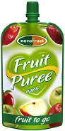 Забавна плодова закуска - Ябълка - Опаковка от 120 g за деца над 3 години -