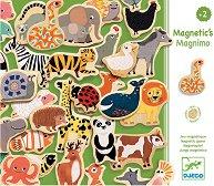 Магнити - Диви животни - Дървени играчки -