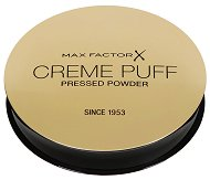 Max Factor Creme Puff Powder Compact - Компактна пудра с високо покритие и матиращ ефект - четка