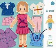 Облечи сама момичето - Творчески комплект - играчка