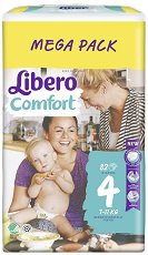 Libero - Comfort 4 - ������ �� ���������� �������� �� ������ � ����� �� 7 �� 14 kg -