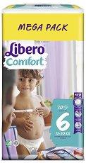 Libero - Comfort 6 - Пелени за еднократна употреба за бебета с тегло от 13 до 20 kg -