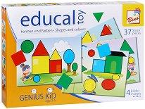 """Цветове и форми - Образователна игра от серията """"Genius Kid"""" -"""