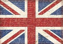 Декупажна хартия - Великобритания 053 - Формат А4