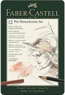 Графичен комплект - Pitt Monochrome Set - Комплект от 12 части