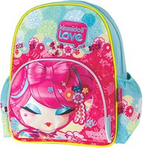 "Раница за детска градина - Miso Cute - Детски аксесоар от серията ""Kimmidoll Love"" -"