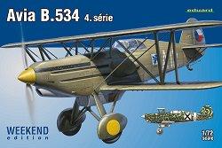 Изтребител-биплан - Avia B.534 IV-та серия - Сглобяем авиомодел -