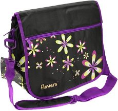 Чанта за рамо - Цветя -