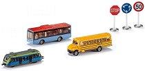 """Градски превозни средства - Метални играчки от серията """"Gift sets"""" - продукт"""