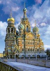 """Храм """"Възкресение Христово"""", Санкт Петербург - пъзел"""