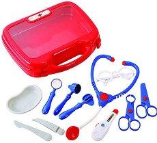Лекарско куфарче с инструменти - Комплект детски играчки - несесер