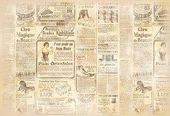 Декупажна хартия - Journal 157 - Размери 48 x 33 cm