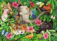 Тропически приятели -