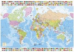 Политическа карта на света -
