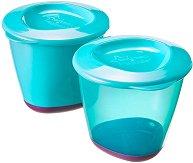 """Контейнери за храна - Pop-Ups Weaning Pots - Комплект от 2 броя от серия """"Explora"""" - продукт"""