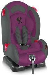 Детско столче за кола - F1: Violet & Grey -