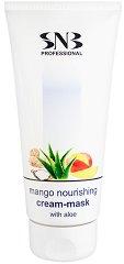 """SNB Mango Nourishing Cream-Mask with Aloe - Подхранваща крем-маска за ръце и крака от серията """"Mango Flavour"""" -"""