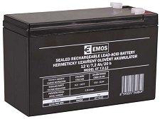 OT 7.2-12 12V / 7.2 Ah - Оловно-киселинна батерия с размери 151 / 65 / 94 mm -