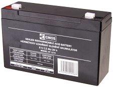 OT 12-6 6V / 12 Ah - Оловно-киселинна батерия с размери 151 / 51 / 94 mm -