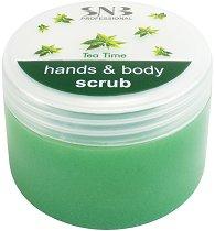 SNB Tea Time Hands & Body Scrub - масло
