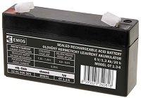 OT 1.3-6 6V / 1.3 Ah - Оловно-киселинна батерия с размери 97 / 24 / 51 mm -
