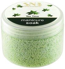 """Омекотяващи соли за маникюр - От серията """"SNB Tea Time"""" -"""