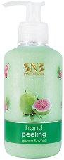 """SNB Guava Flavour Hand Peeling - Пилинг за ръце от серията """"Guava Flavour"""" - продукт"""