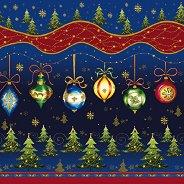 Салфетки за декупаж - Коледни играчки