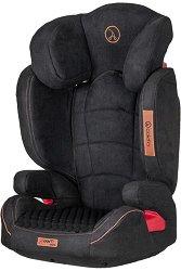 """Детско столче за кола - Avanti Isofix: Black - За """"Isofix"""" система и деца от 15 до 36 kg -"""