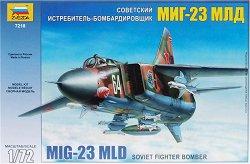 Съветски изтребител-бомбардировач - МиГ-23 МЛД - Сглобяем ввиомодел - макет