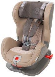 Детско столче за кола - Glider Royal Isofix: Beige Gray -