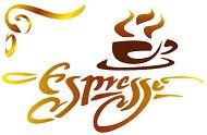 Шаблон -  Espresso - Размери 20 x 15 cm