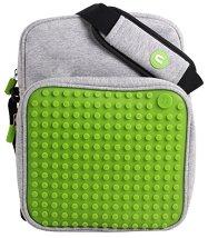Чанта за рамо със силиконови пиксели - чанта