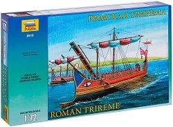 Римска трирема - Сглобяем модел -