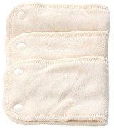 """Попиващи подложки за пелени за многократна употреба - Комплект от 3 броя от серия """"Стреч - Бамбук"""" - продукт"""