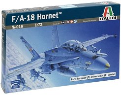 Военен самолет - F/A-18 Hornet Wild Weasel C/D - Сглобяем авиомодел -