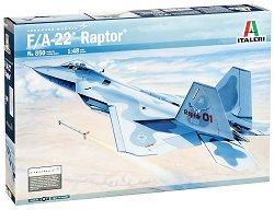 Военен самолет - F/A-22 Raptor - Сглобяем авиомодел -